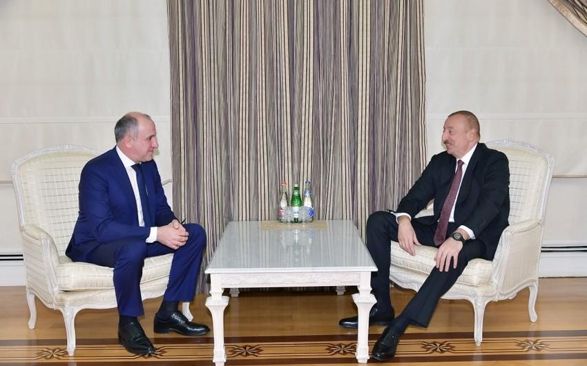 Президент Ильхам Алиев принял главу Карачаево-Черкесской Республики