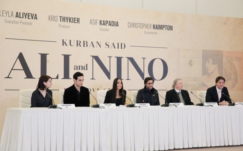 "Heydar Aliyev Center hosts press conference on film ""Ali and Nino"""