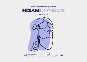 """Heydər Əliyev Sarayı """"Nizami"""" operasını səhnələşdirəcək"""
