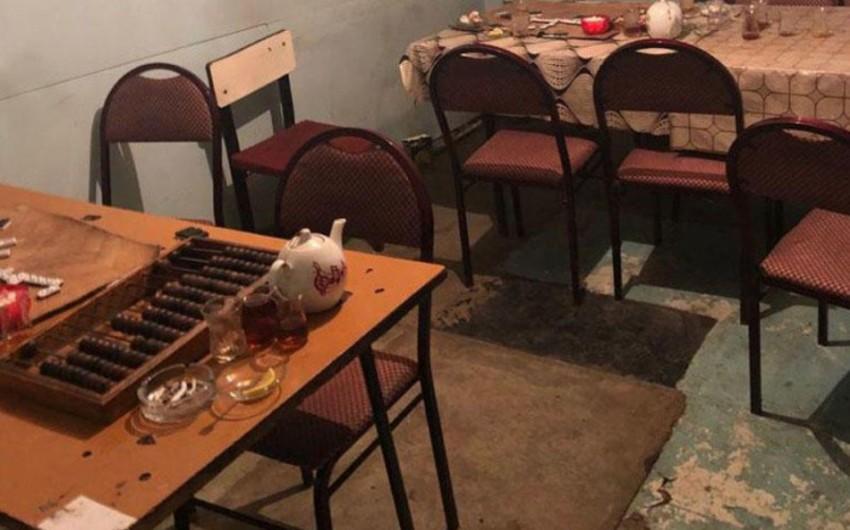 Qusarda karantin qaydalarını pozan çay evi aşkarlandı