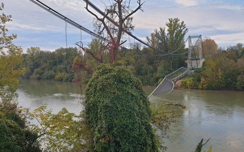 Во Франции рухнул подвесной мост, есть погибшие и раненые