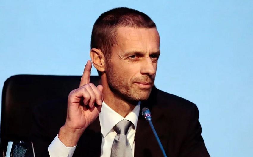 UEFA prezidenti Belçika klublarını hədələdi