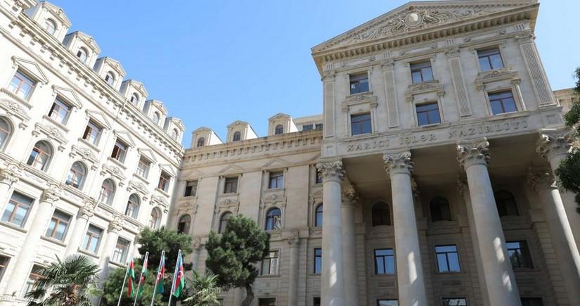 МИД Азербайджана выразил отношение к заявлению Пашиняна
