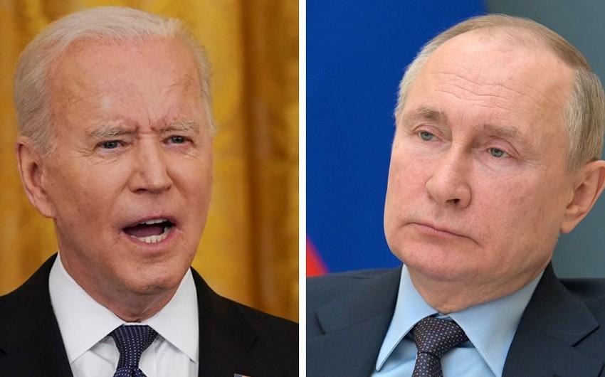 Baydenlə Putin arasında telefon danışığı olub