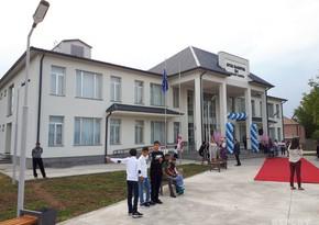 New building of Azerbaijani school in Georgia given into function