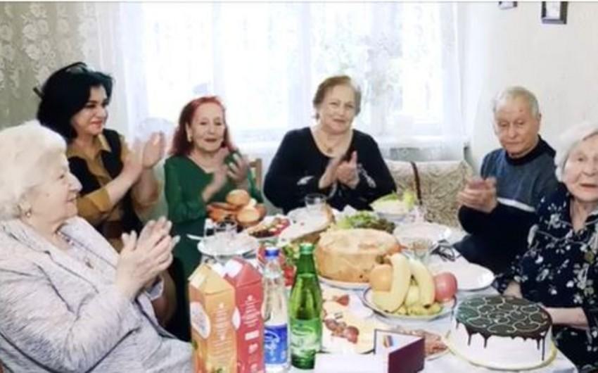 Böyük Vətən müharibəsi veteranları ziyarət olunub