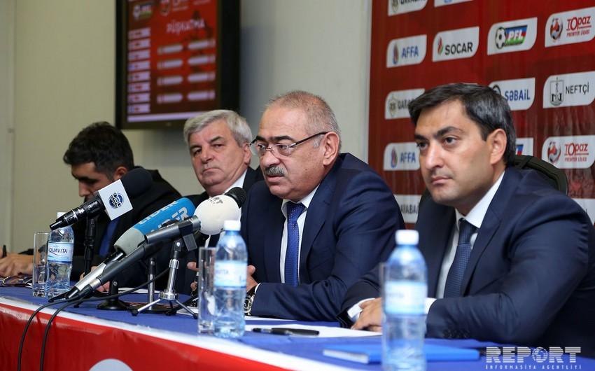 """Ramin Musayev: """"Qarabağ""""dan başqa bütün klubların borcu var"""