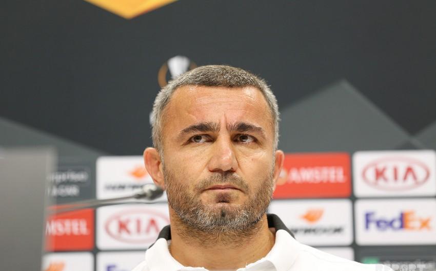 Qurban Qurbanov: Müdafiədə oynayan komandaya qarşı çıxış etdik