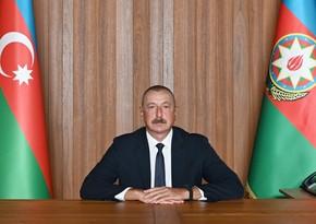 Президент Ильхам Алиев выступил в формате видеообращения на Генассамблее ООН