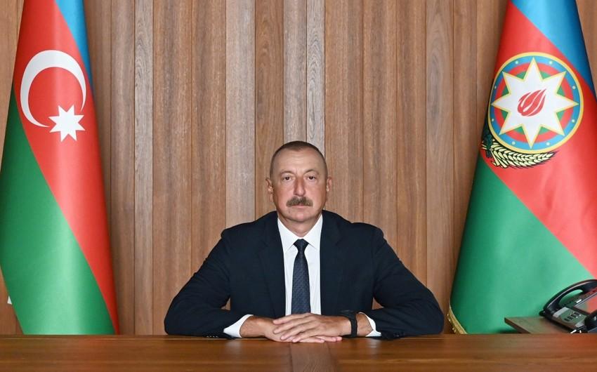 Prezident İlham Əliyev BMT Baş Assambleyasının 76-cı sessiyasında çıxış edib