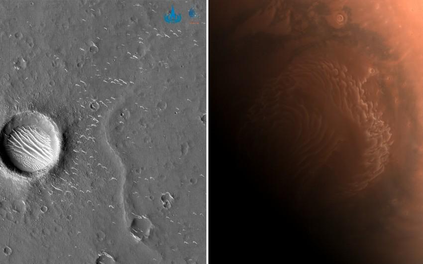 Mars planetinin yeni şəkilləri yayıldı