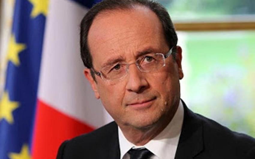 Olland: Fransada yüksək terror təhlükəsi qalmaqda davam edir