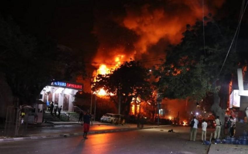 Somalidə törədilən terror aktında ölənlərin sayı 29 nəfərə çatıb, 80 yaralı var - YENİLƏNİB