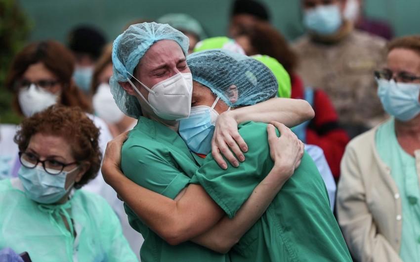 ÜST: Dünyada bir gündə COVID-19-a 90 mindən çox yoluxma qeydə alınıb