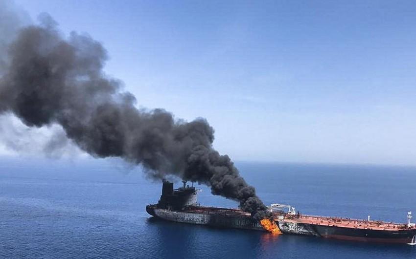 İrana məxsus tanker partlayışlardan sonra istiqamətini dəyişdirib