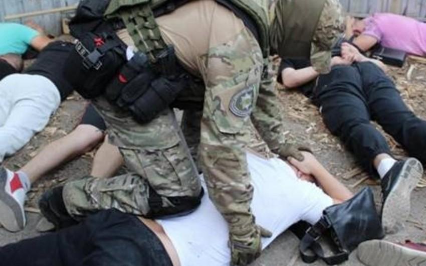 Ukraynada Azərbaycan əsilli kriminal avtoritetlər saxlanılıb - FOTO
