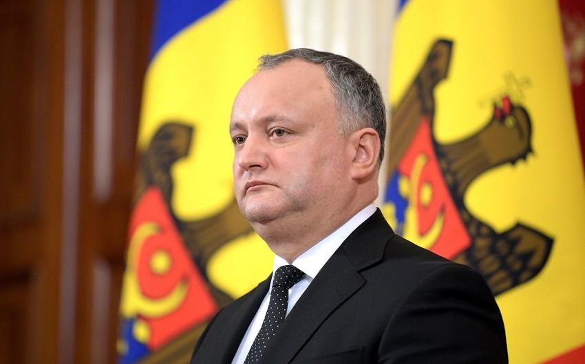 Moldova prezidenti Azərbaycana səfər edəcək