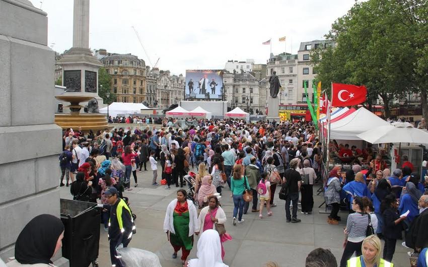 """Londonda """"Ramazan Festivalı-2016"""" adlı tədbir keçirilib"""