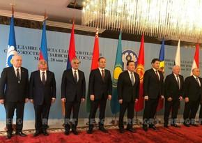 Minskdə MDB Hökumət Başçıları Şurasının iclası keçirilib