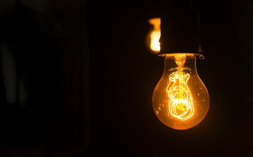 Ötən il Bakıda elektrik enerjisi istehsalı 14%-dən çox artıb