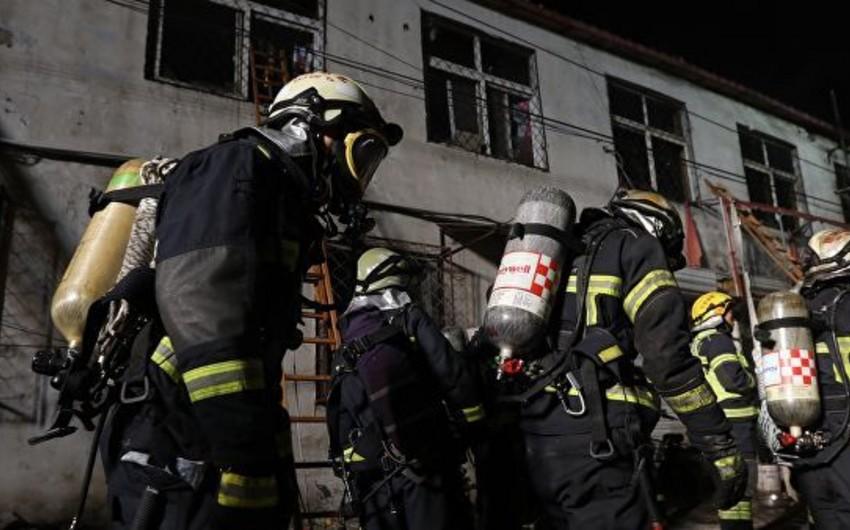 Çində yaşayış binasında yanğın olub, ölənlər və yaralananlar var