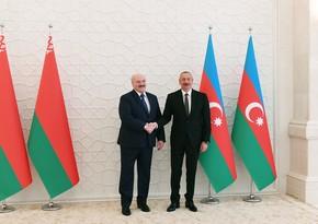 Lukaşenko Azərbaycan Prezidentinə təbrik məktubu yazıb