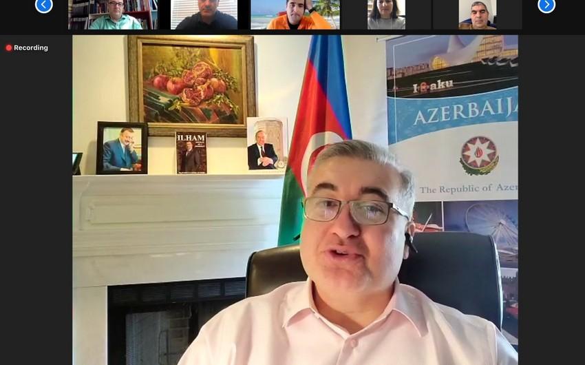 ABŞ-dakı azərbaycanlılar Novruz bayramı münasibətilə bir araya gəlib