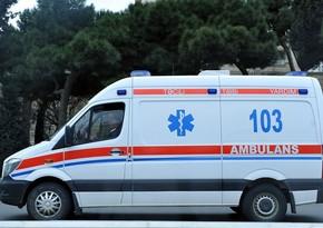 Bakıda avtomobil ata və oğlu vurdu