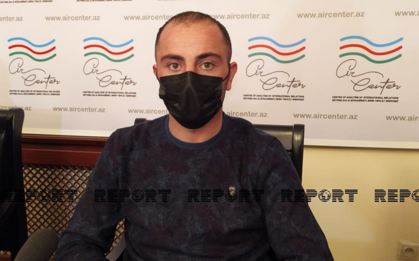 Azerbaijani released captive: Armenians did not give us even water