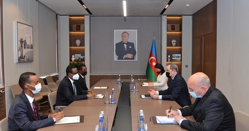 Джейхун Байрамов встретился с делегацией Великобритании