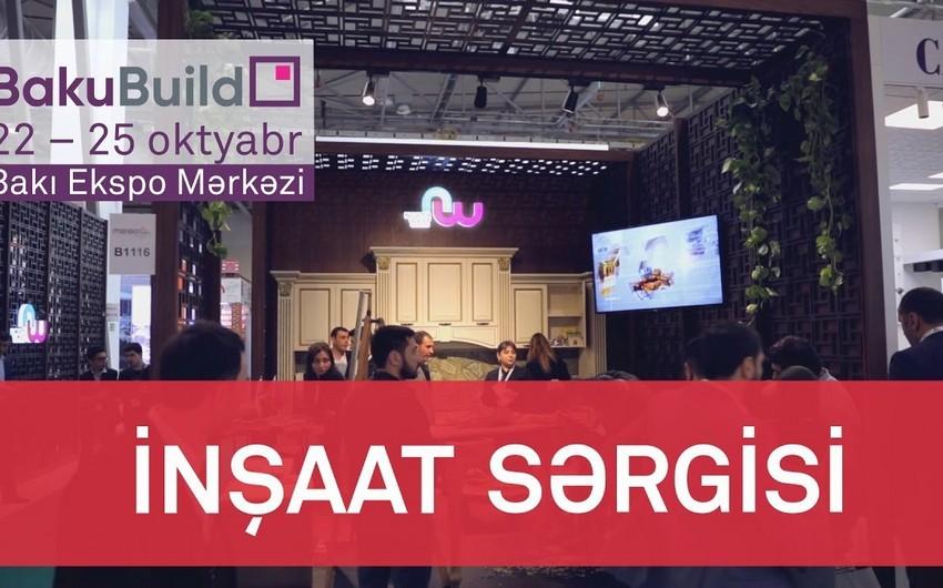 """""""BakuBuild 2019"""" sərgisi işə başlayıb"""