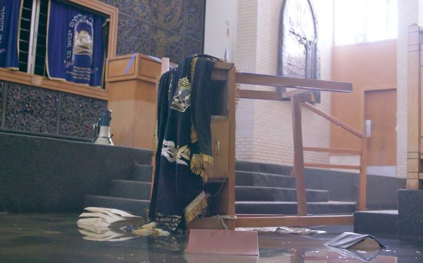 Азербайджанская диаспора предложила помощь в реконструкции крупнейшей синагоги в Хьюстоне