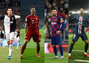 İlin ən yaxşı futbolçusu adına namizədlər açıqlanıb