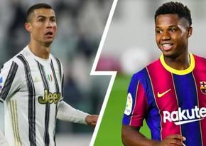 Ronaldudan Barselonanın futbolçusuna dəstək