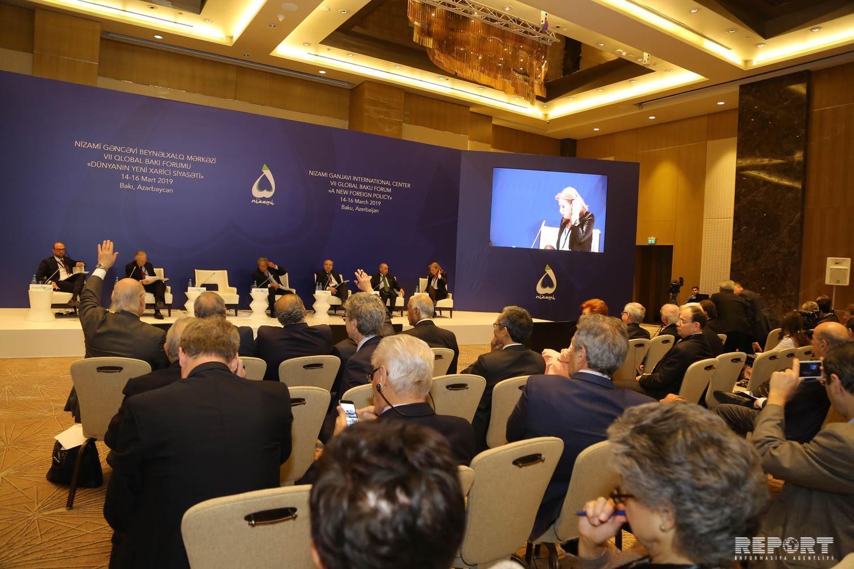 Ситуация на Ближнем Востоке обсуждена на VII Глобальном форуме в Баку