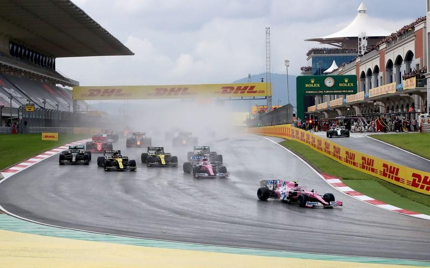 Formula 1in təqvimi dəyişdi