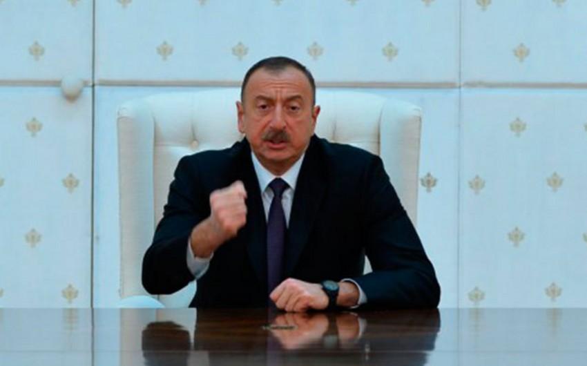 Azərbaycan Prezidenti: Terrorizmi yalnız bütün dünya ictimaiyyətinin birgə səyləri sayəsində məğlub etmək mümkündür