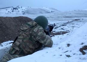 Подразделения Азербайджанской армии выполняют боевые стрельбы
