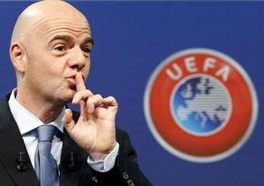 FIFA-nın prezidenti koronavirusa yoluxdu