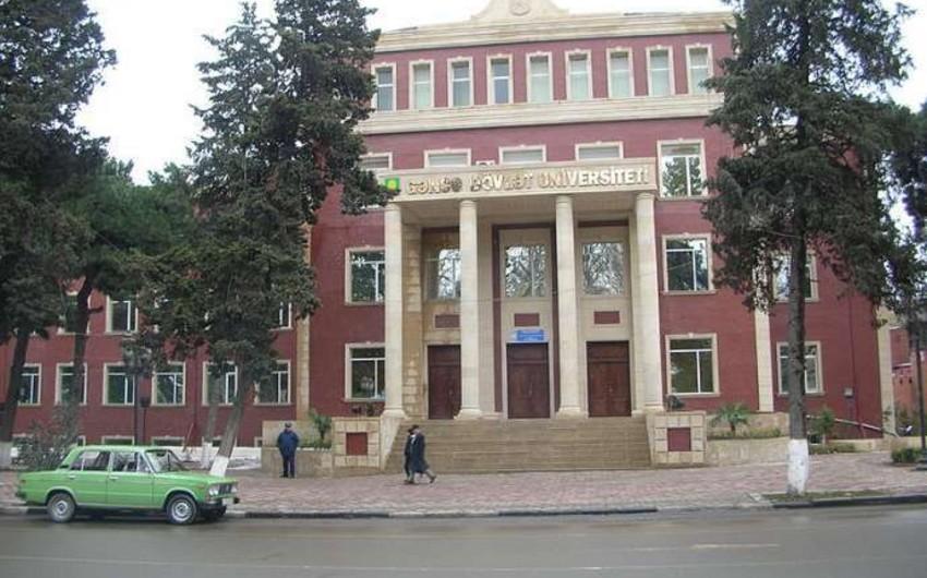 Награждены сотрудники Гянджинского государственного университета - СПИСОК