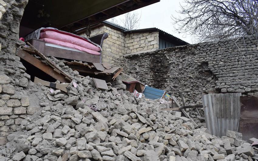RSXM: Zəlzələ zonasında afterşoklar davam edir