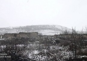 Кадры из села Довлятъярлы Физулинского района