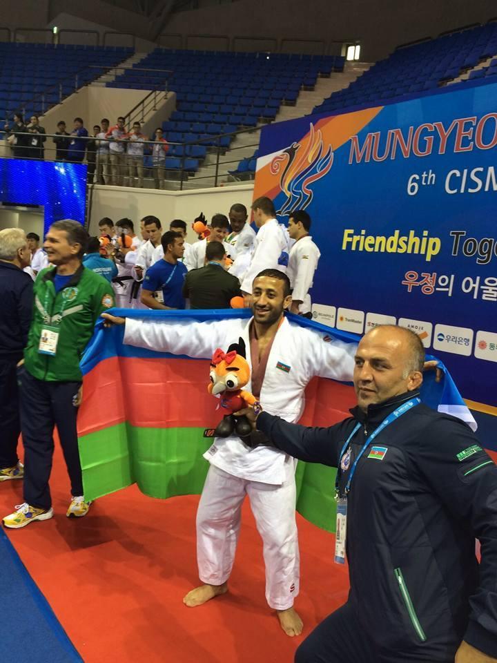 Azerbaijani judokas open Military World Games with winning medals - PHOTO