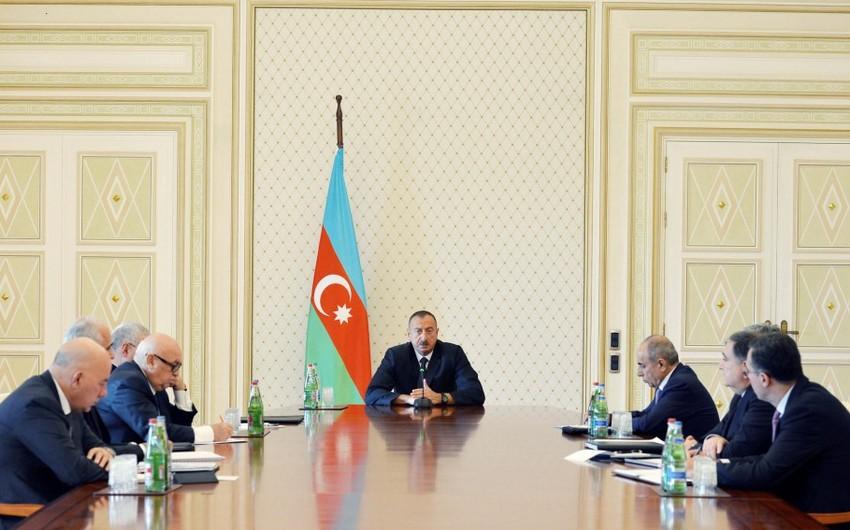 Azərbaycan Prezidenti: Bizə qarşı uzanan çirkli əlləri kəsmişik