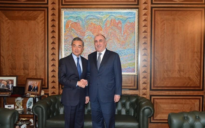Состоялась встреча министров иностранных дел Азербайджана и Китая