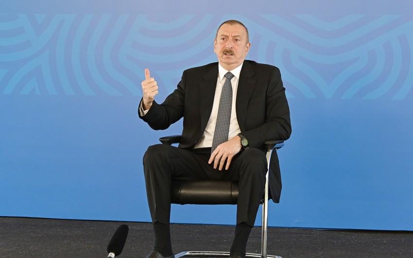 Ильхам Алиев: Мы должны быть готовы жить в рамках новых правил поведения