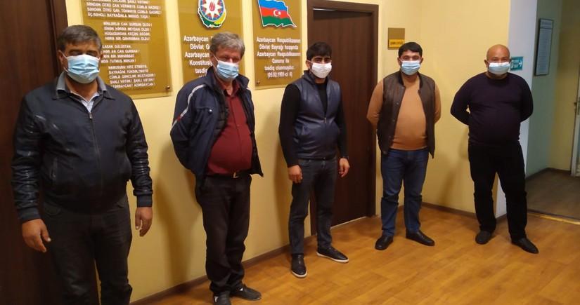Задержаны лица, пытавшиеся незаконно проникнуть в Кельбаджар