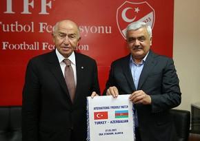 AFFA və TFF prezidentləri görüşdü