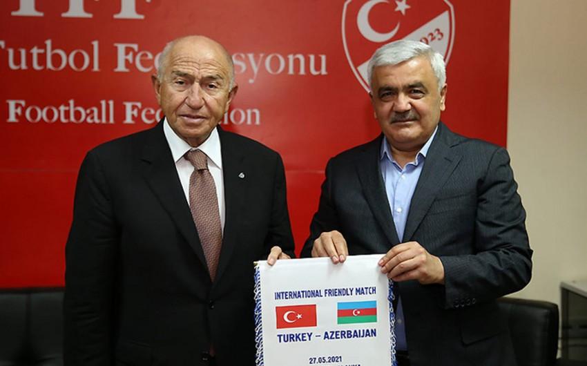 Состоялась встреча президентов АФФА и Федерации футбола Турции