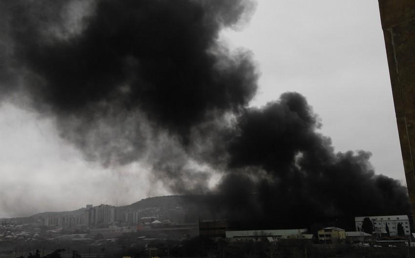 Tbilisidə güclü yanğın baş verib - FOTO - VİDEO
